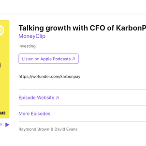 Money Clip Podcast with CFO