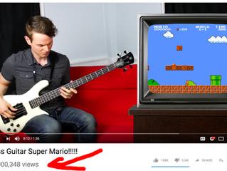 Super Mario Bass Passes 10M Views!