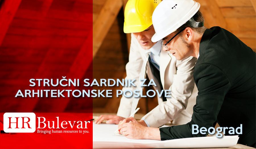 Beograd, Posao, Arhitekta, arhitektura, stručni saradnik u arhitekturi, arhitektonski poslovi