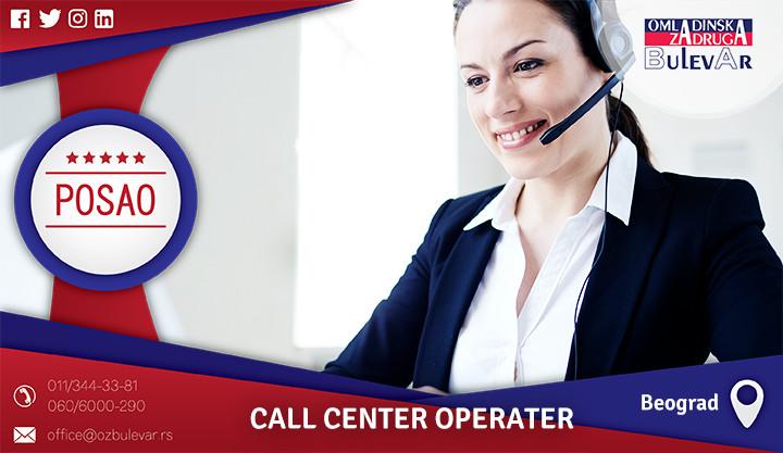 Beograd, Poslovi preko omladinske zadruge, Omladinska zadruga, call center, call centar operater, call centar posao, posao u call centru