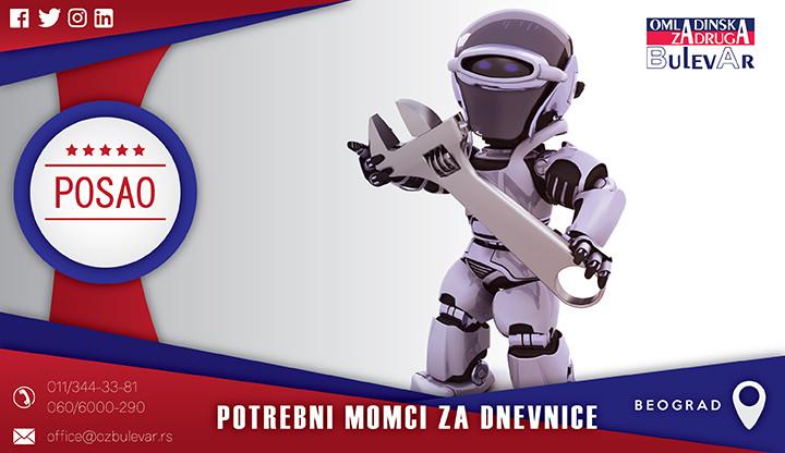 Beograd, Poslovi, Poslovi preko omladinske zadruge, Deklarant, deklarisanje robe, lepljenje deklaracija