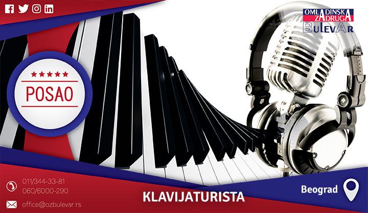 Beograd, Poslovi preko omladinske zadruge, Omladinska zadruga, Klavir, profesor klavira, klavijaturista, piano, posao klavijaturista, časovi klavira