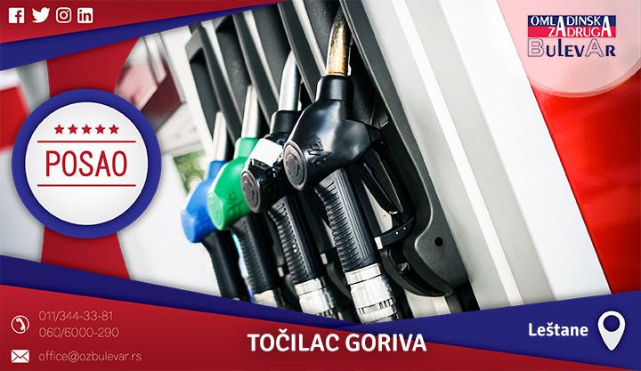 Beograd, Poslovi preko omladinske zadruge, Omladinska zadruga, točilac goriva, benzinska pumpa, točenje goriva, posao leštane