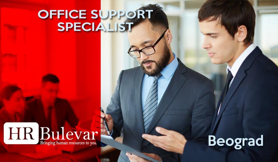 Beograd, Posao, Office support specialist, specialista, podrska,