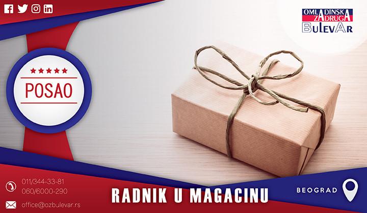 Beograd, Poslovi, Poslovi preko omladinske zadruge, Omladinska zadruga, magacin,