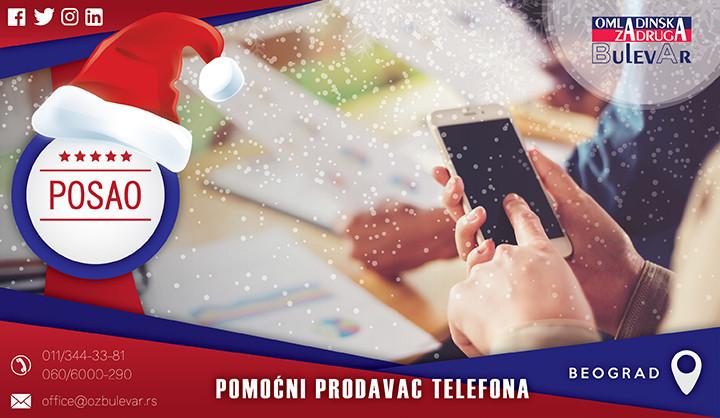 Beograd, Poslovi, Poslovi preko omladinske zadruge, Omladinska zadruga, Prodaja mobilnih telefona, prodaja, mobilnih, telefona, pomoćni prodavac