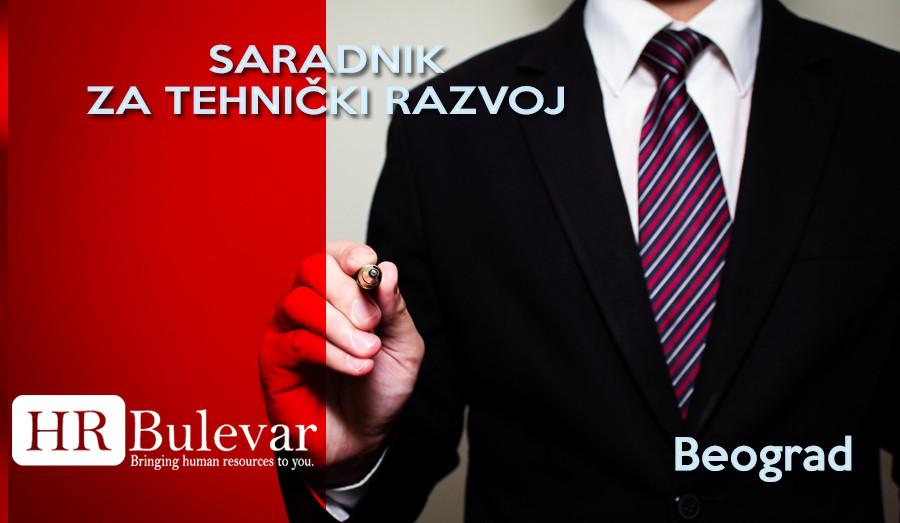 Beograd, Posao, Saradnik za tehnički razvoj, tehnički razvoj, posao saradnik