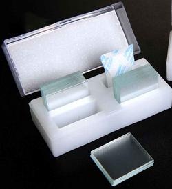 Lamínulas de vidro