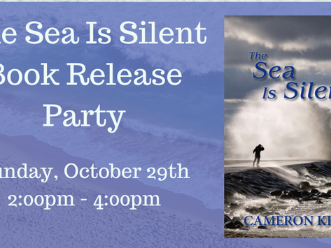 The Sea Is Silent Book Release party