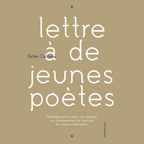 Lettre à de jeunes poètes