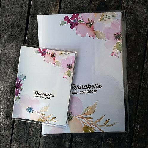 U-Hefthülle / Impfpass • Florales Design