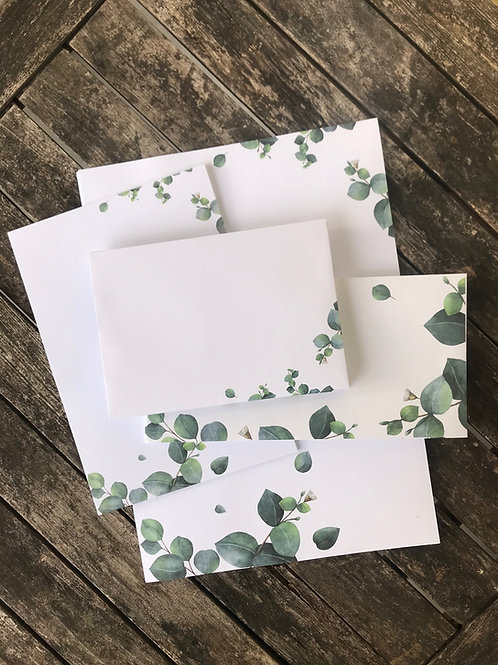 XXL Eukalyptus-Briefset