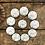 Thumbnail: JGA Button Set Eukalyptus mit Namen