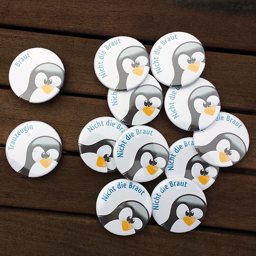 JGA-Button-Set Pinguin