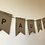"Thumbnail: DIY-Wimpelkette ""Paulina"" • selbermachen gestalten basteln Wandgestaltung Dekora"