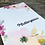 Thumbnail: Florale Mutterpasshülle