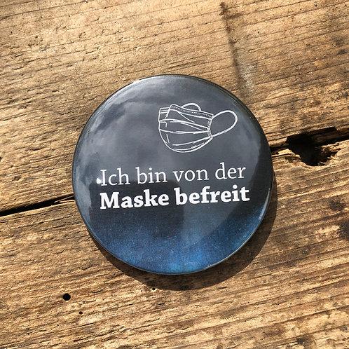 """Button """"Maskenbefreiung"""""""