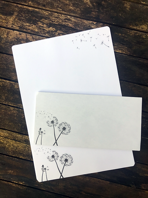 Großes Pusteblume-Briefset