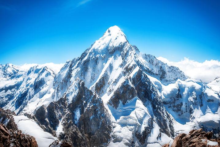 Mountain peak. Everest. National Park, N