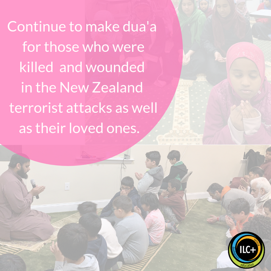 Prayers for our Brothers & Sisters in New Zealand