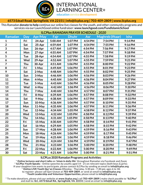 Ramadan Mubarak | Updates