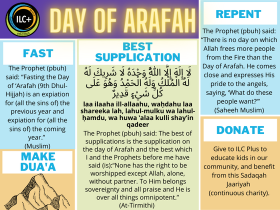 Don't Let the Day of Arafah Pass You By