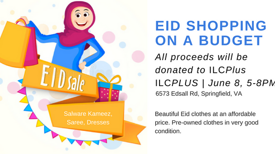 EID SHOPPING ON A BUDGET: June 8th, 5-9 PM!