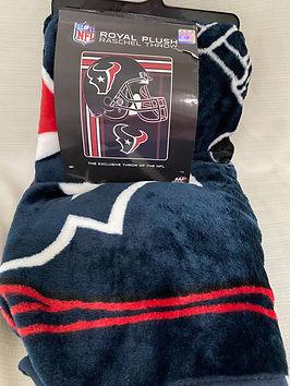 #9 - Houston Texans Throw Blanket
