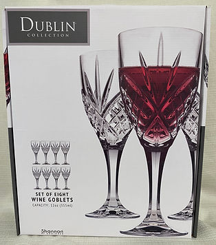 #7 - Dublin Collection Set of 8 Crystal