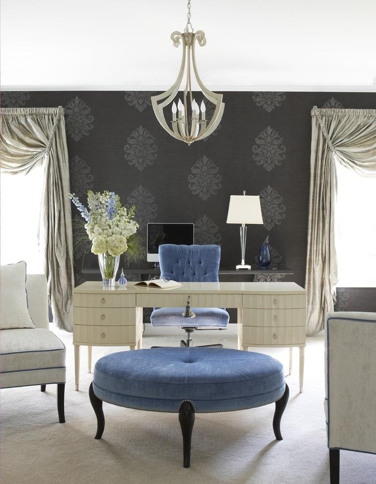 SCM Design Group big blue ottoman