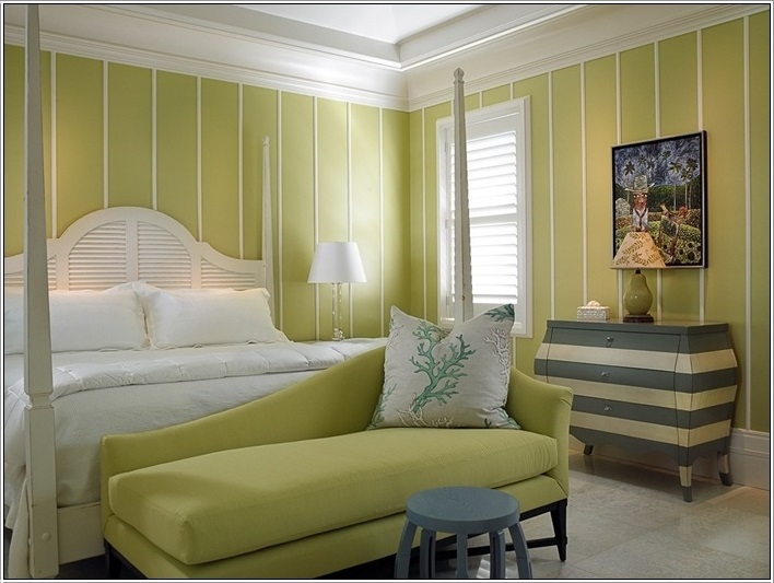 SCM Design Group green stripes paint