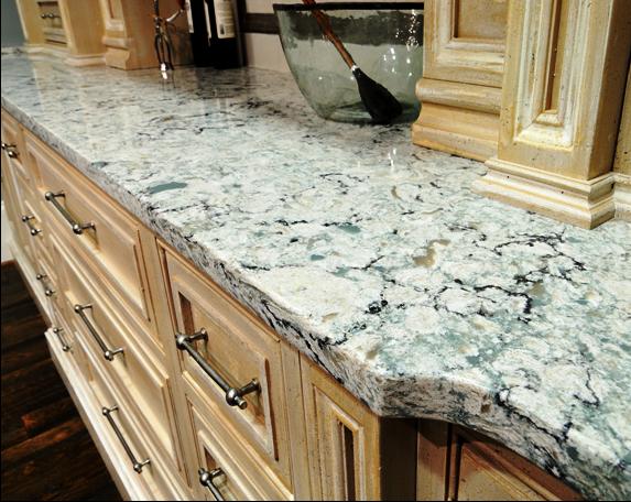 SCM Design Group natural stone quartzite counter