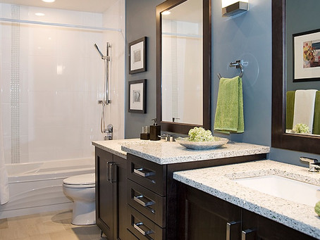 Earthy Design Tips for Small Bathrooms