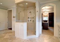 SCM Design Group pentagon shower