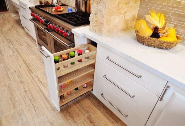 SCM Design Group pullout storage spice rack