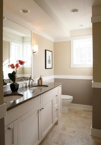 SCM Design Group dual color walls