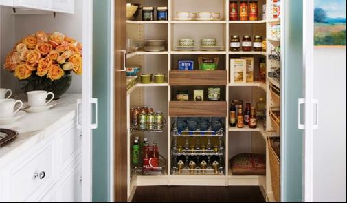 SCM Design Group efficient pantry
