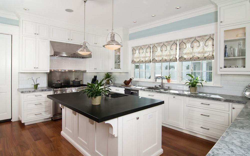 SCM Design Group white washed kitchen
