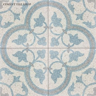 SCM Design Group custom patterned cement tile