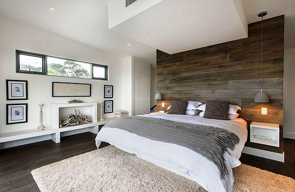 SCM Design Group complementary white walls in bedroom