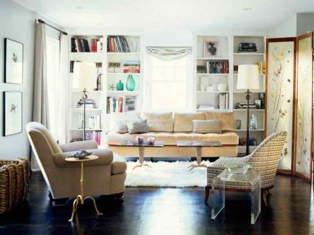 SCM Design Group eclectic living room
