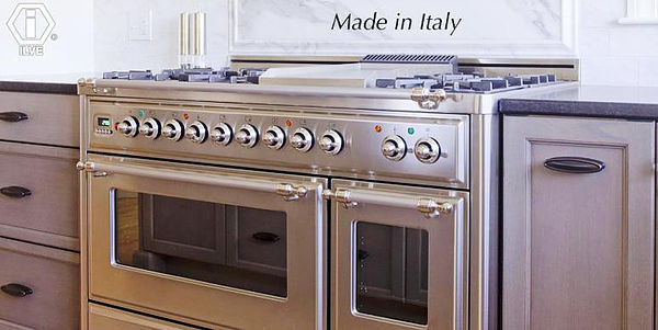 SCM Design Group custom made italian ranges