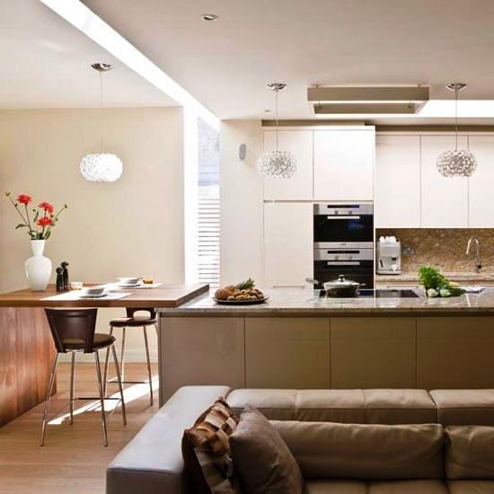  SCM Design Group zoned family kitchen