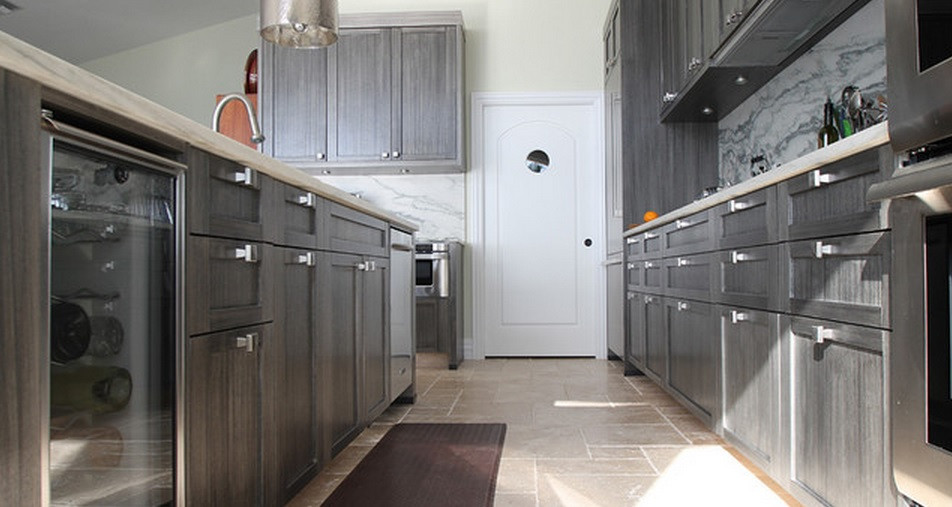 SCM Design Group grey/brown kitchen cabinets