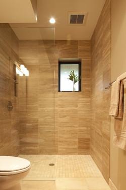 SCM Design Group tiled shower walls