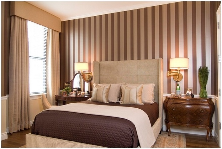 SCM Design Group brown stripes paint