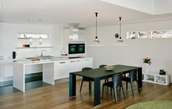 SCM Design Group whitewashed kitchen