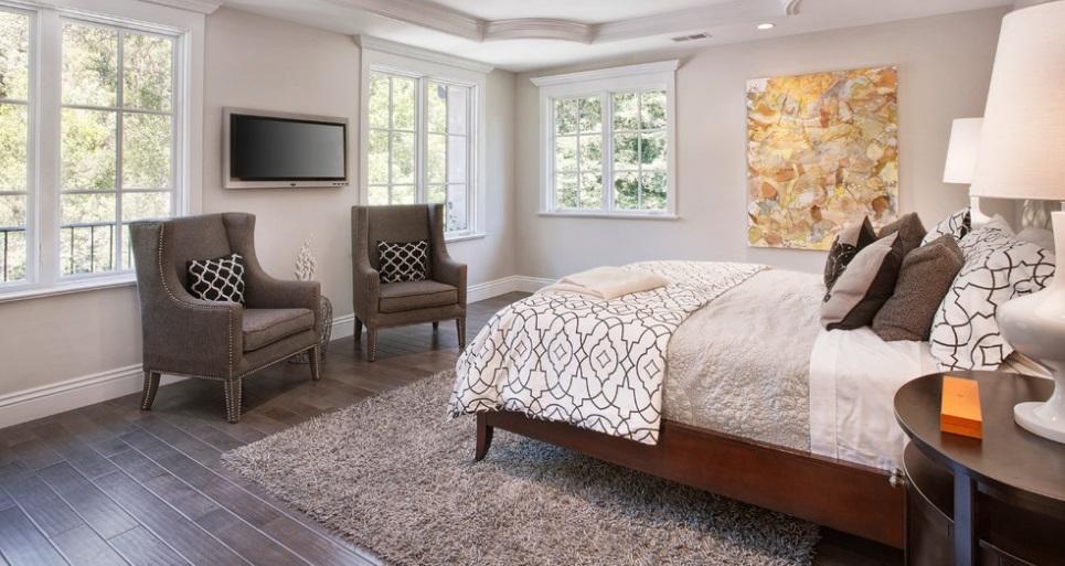 SCM Design Group hardwood bedroom