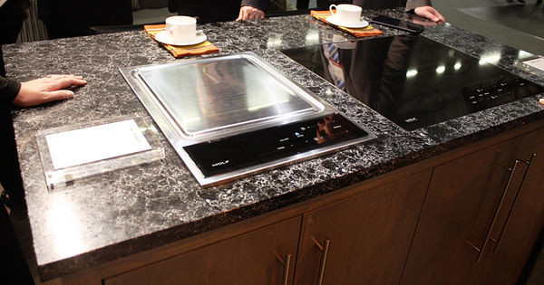 SCM Design Group tappanyaki cooktop