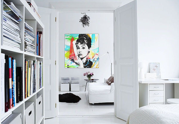 SCM Design Group white walled bedroom